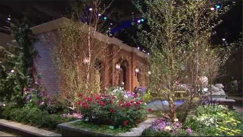 6ABC at 2013 PHS Philadelphia Flower Show